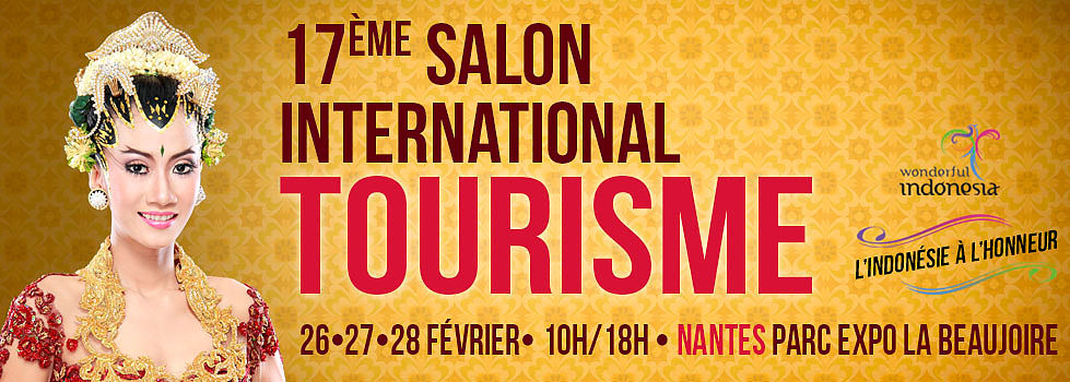Salon tourisme nantes 2016 office du tourisme de l 39 indon sie for Salon e tourisme